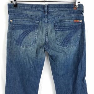 7 For All Mankind Dojo Flare Jeans 34x31